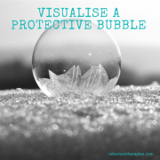 Image of bubble on ground
